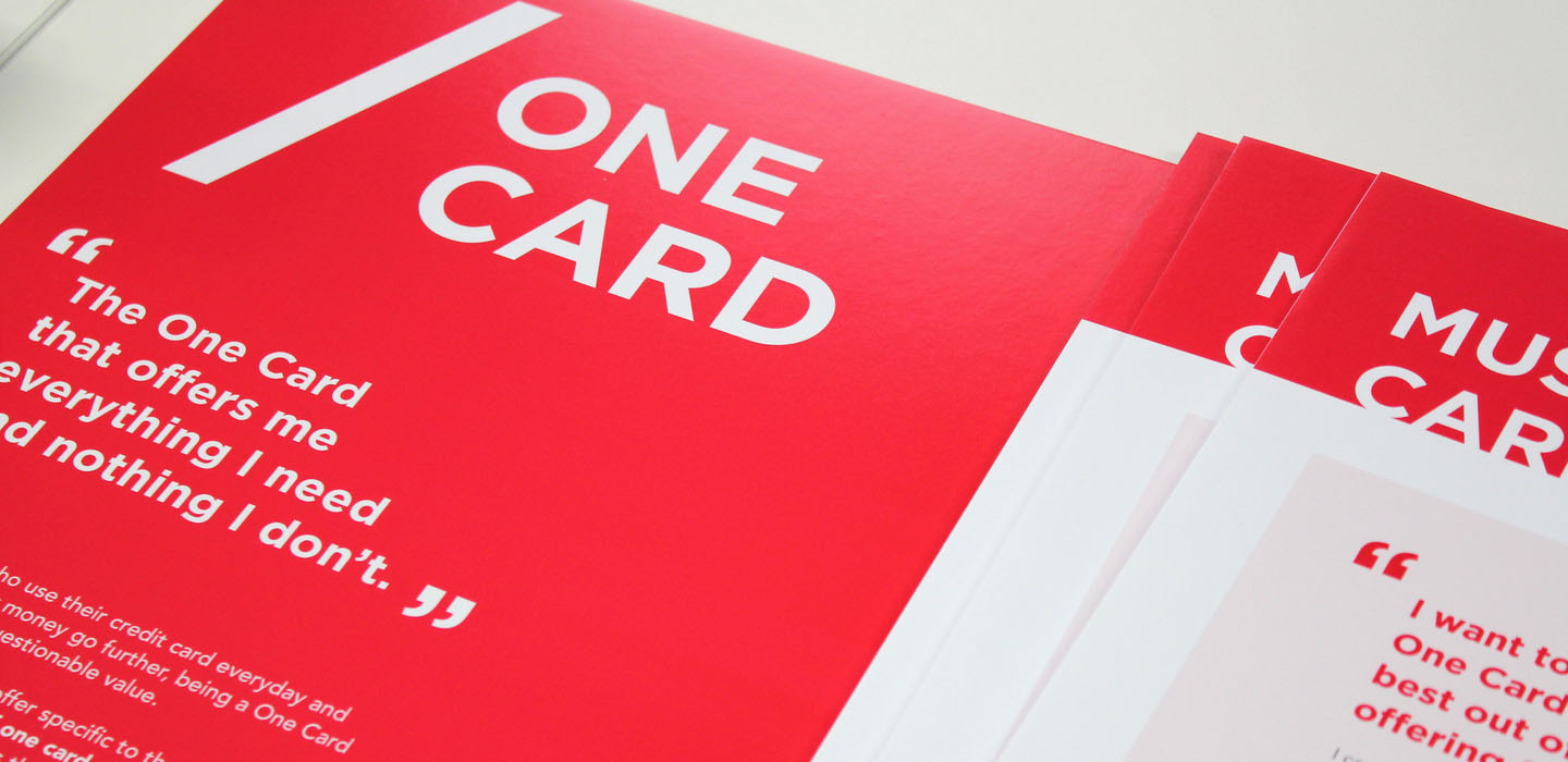 Westpac the one card presentation deck
