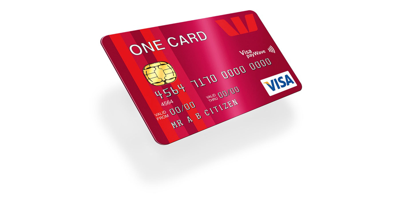 Westpac credit card - the one card